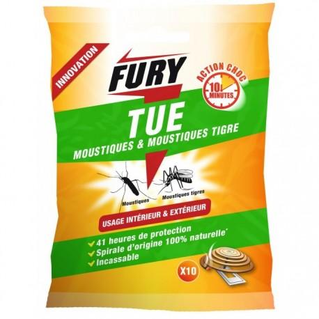 Fury spirale moustique int/ext X10
