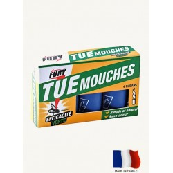 Tue mouches Fury X4 rubans.