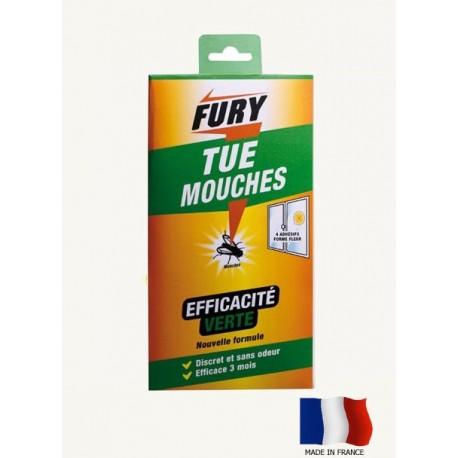 Fury tue mouches adhesifs X4