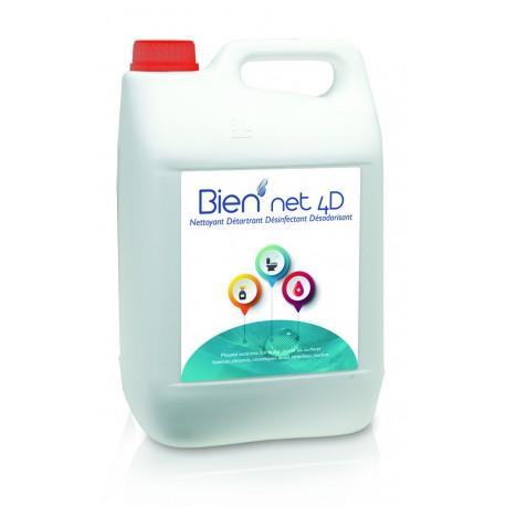 Bien'net 4D 5kg (nettoyant détartrant désinfectant désodorisant)