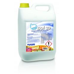 Nettoyant sol 3D agrumes ELISOL 5kg