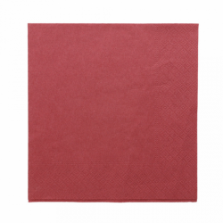 Serviette de table bordeaux ouate 38x38 24U