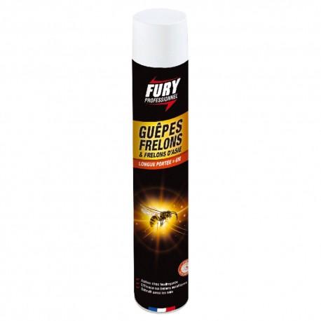 fury professionel guêpes et frelons 750ml
