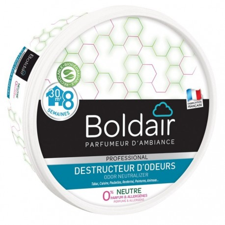 Boldair destructeur d'odeur neutre 0%