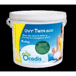 OVYTWIN 500g .chlore enrichie a l'oxygene actif