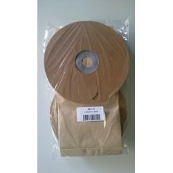 Jeu de 10 sacs papier aspirateur ghibli T1  2eme version 6L
