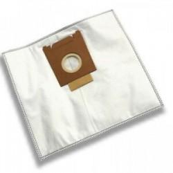 Jeu de 10 sacs aspirateur 40L microfibres compatibles