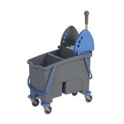 Chariot de lavage Duetto bi-bac