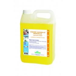 Liquide vaisselle manuelle 5kg parfum Citron SANET