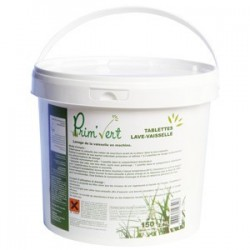 Tablette vaisselle en machine PRIM VERT Ecolabel