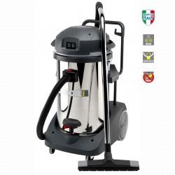Aspirateur eau et poussières en inox Lavor WD 255 XE