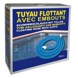 TUYAU FLOTTANT D38 10M AVEC EMBOUT