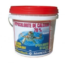 HYPOCHLORITE DE CALCIUM granulé 5KG