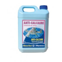 ANTI-CALCAIRE PREVENTIF ET CURATIF 5L REVA OUT