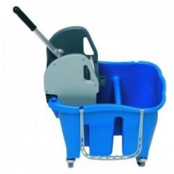 Combine bibacs 30l bleu +presse